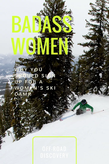 5 Reasons You Should Sign Up For a Women's Ski Camp