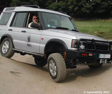Land Rover Discovery 2 Driver Training