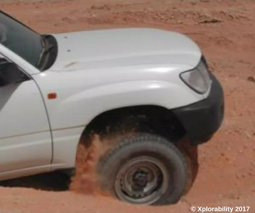 Tips for Driving on Sand and not getting Stuck
