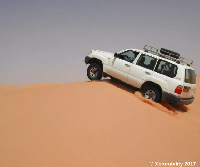 How to Drive on Sand Without Getting Stuck