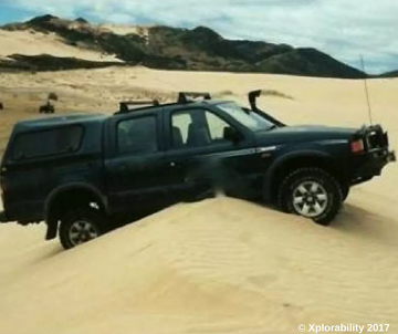 How to Drive on Sand Without Getting Stuck - Off-road Discovery