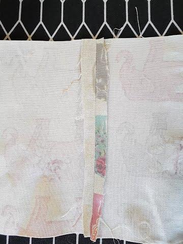 ironed center seam