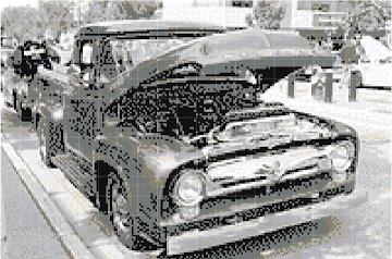 car dithered stucki greyscale