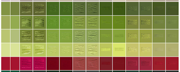 DMC palette variations between sources