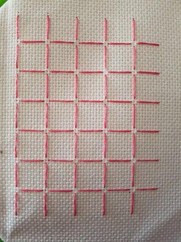 gridding cross stitch