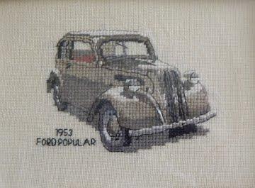 ford popular cross stitch