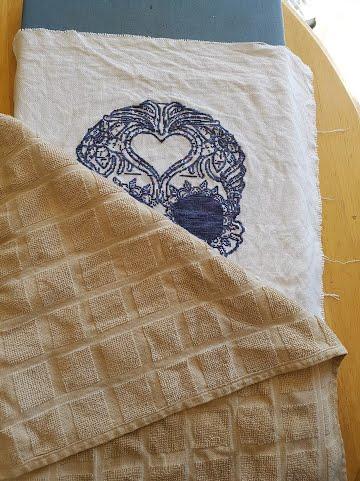 iron board cross stitch