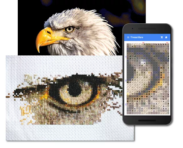 full-cover cross-stitch photo conversion