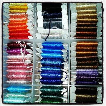 threads on bobbins