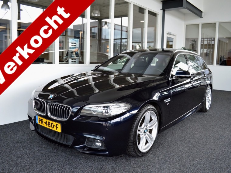 Foto van BMW 5 Serie Touring 535d M-Sportedition Facelift