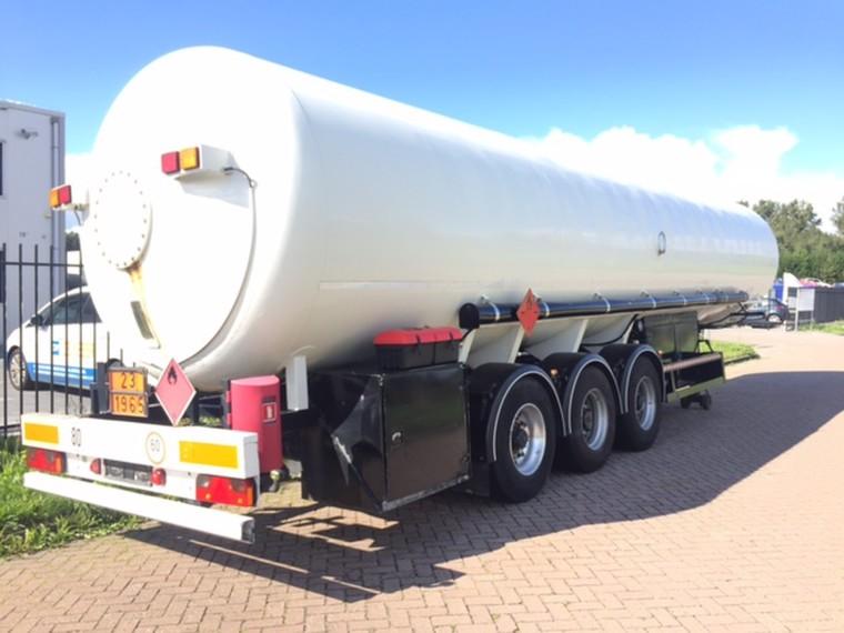 Foto van Gofa 50.000 liter gastrailer