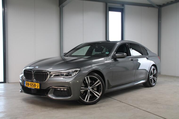 BMW 7 Serie 730d xDrive M-Sport, Leder excl nappa, Laser, Standverw.