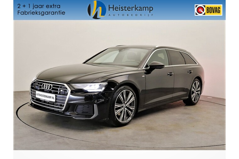 Audi A6 Avant 50 TDI 286PK quattro S Line Luchtvering,  360 Camera, Head up