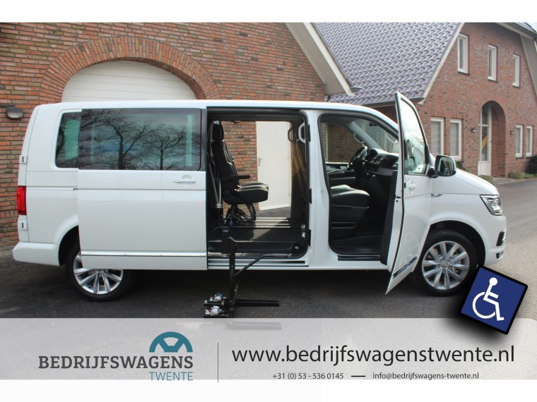 Foto van Volkswagen Caravelle T6 204 pk DSG | ROLSTOELBUS! TDI Dub/cab CARAVELLE