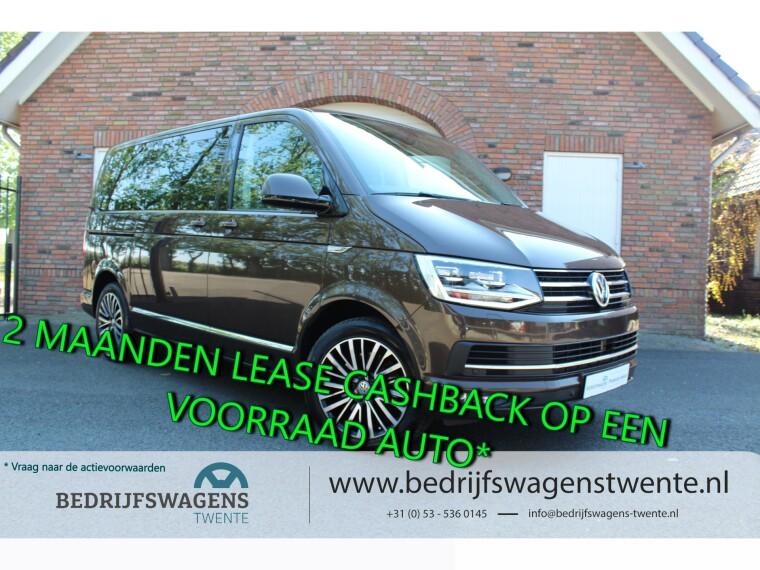 Foto van Volkswagen Multivan T6 2.0 TDI 204 pk Dub/Cab Highline BOM VOL OPTIES!