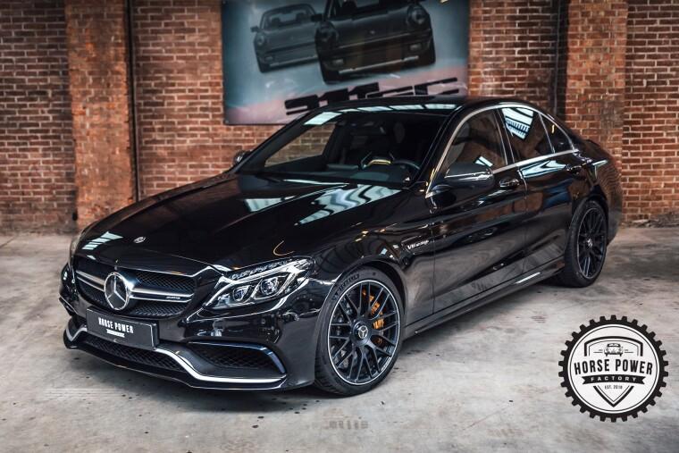 Foto van Mercedes-Benz C-Klasse 63 AMG S 510PK
