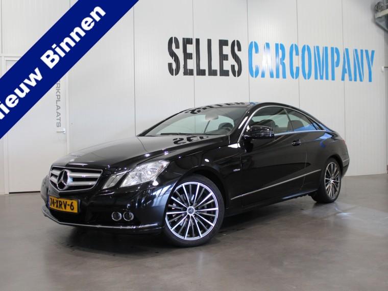 Foto van Mercedes-Benz E-Klasse Coupé 220 CDI Elegance