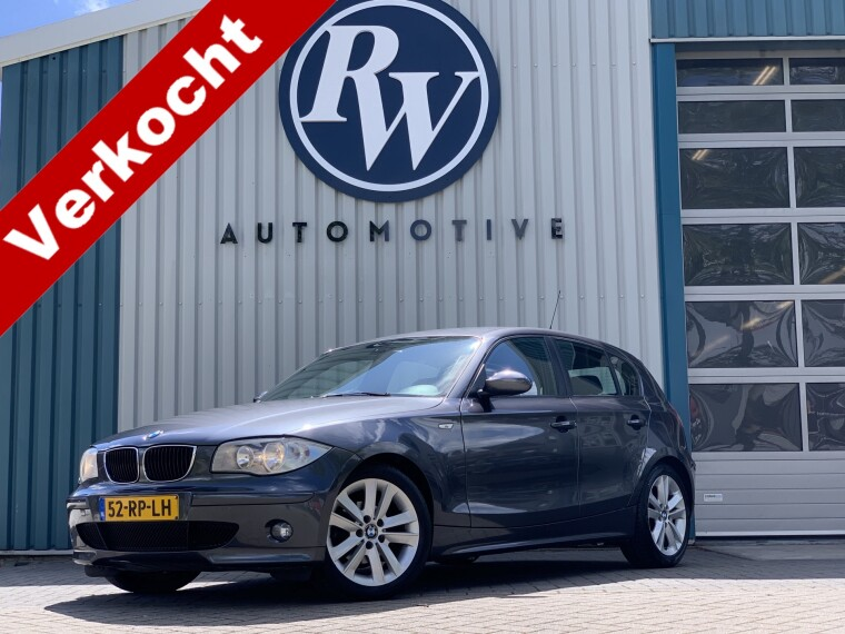 Foto van BMW 1 Serie 118i High Exe