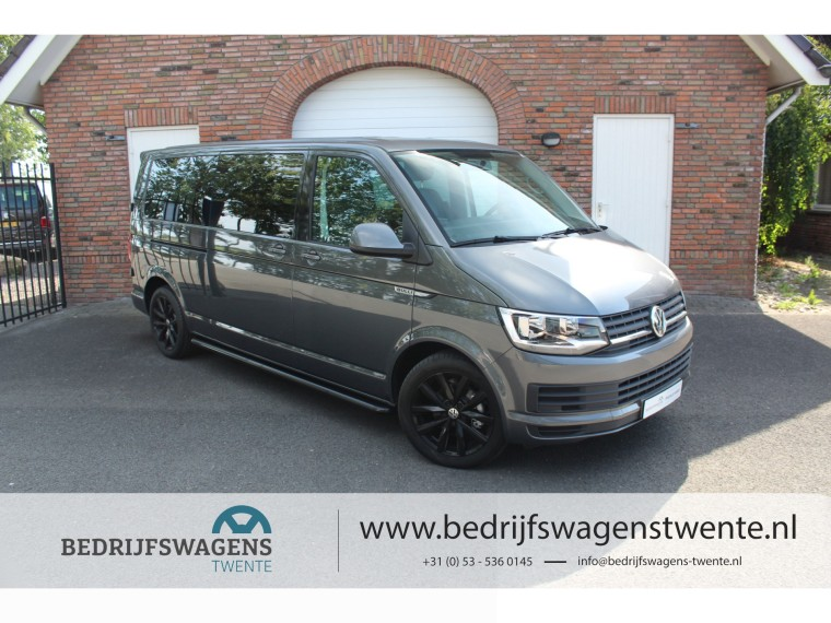 "Foto van Volkswagen Transporter T6 150pk DSG ""BULLI EDITION"" Dub/Cab   EIBACH   18""   NAVI"
