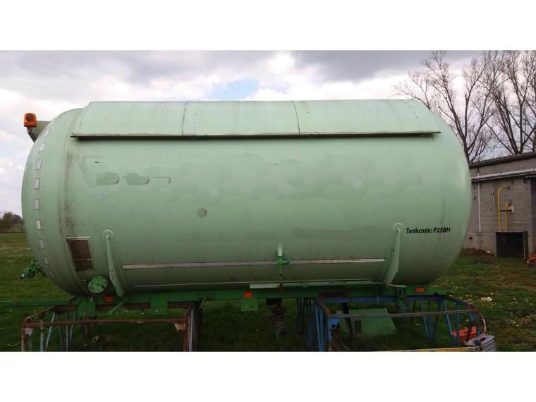 Foto van Citergaz bobtail tank 19680 liter