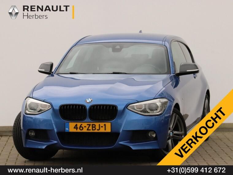 Foto van BMW 1 Serie 114i 210PK M-SPORT / LEDER / NAVI PROFF / 17 INCH