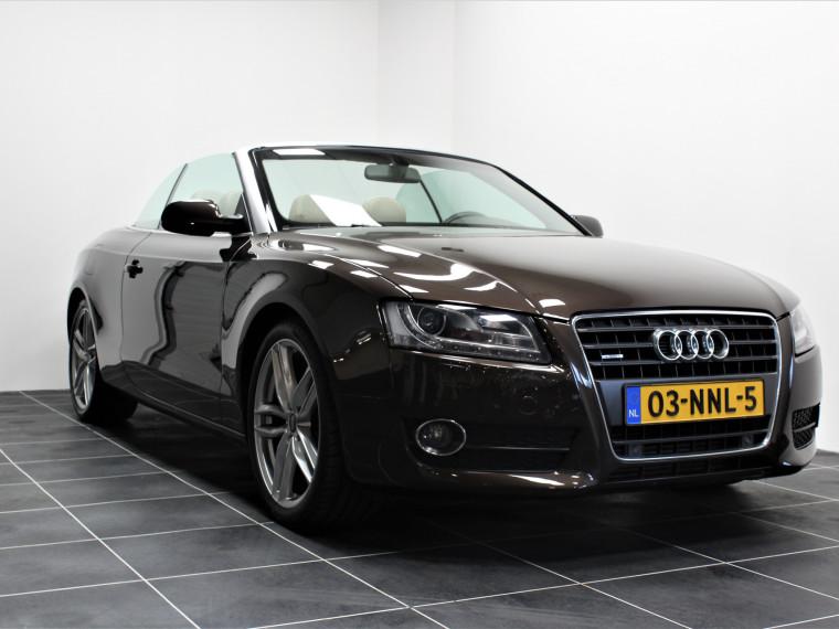 Foto van Audi A5 Cabriolet 2.0 TFSI quattro/Xenon/Sportstoelen/Nekverwarming/Navi