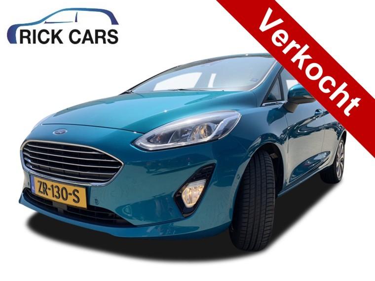 Foto van Ford Fiesta 1.0 EcoBoost Vignale