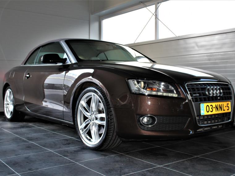 Foto van Audi A5 Cabriolet 2.0 TFSI Quattro/Xenon/Leder/Nekverwarming/Stoelverwarming/Navi