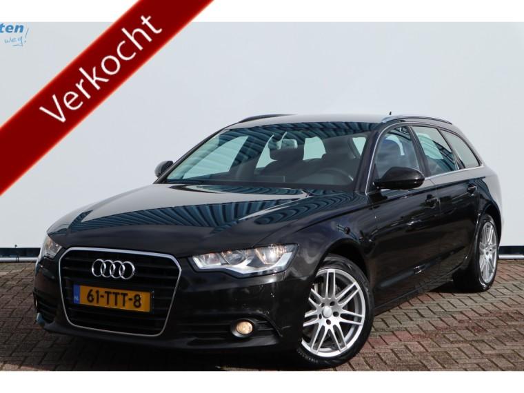 Foto van Audi A6 Avant 2.0TDI 177pk AUTOMAAT,BUSINESS EDITION
