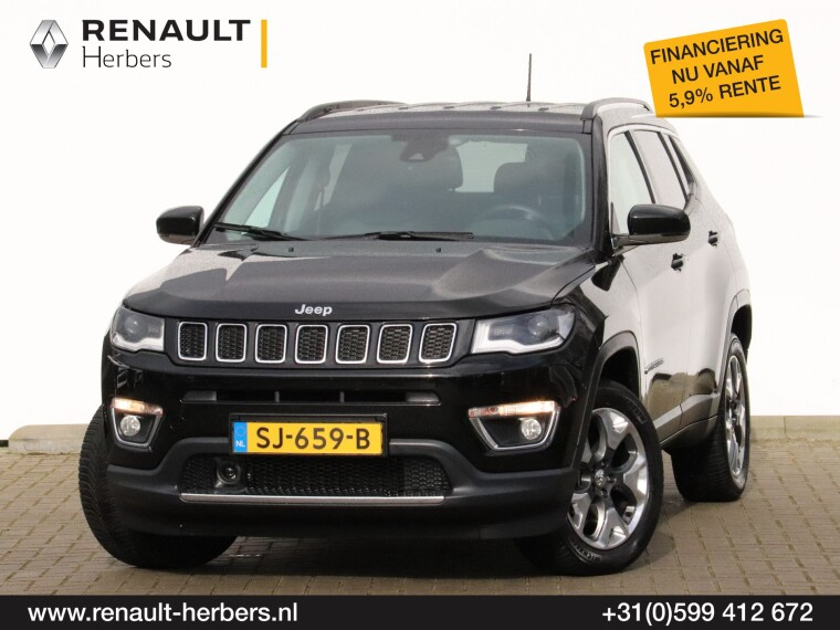 Foto van Jeep Compass 1.4 MultiAir Opening Edition 4x4 / BEATS / NAVI / ALL SEASON