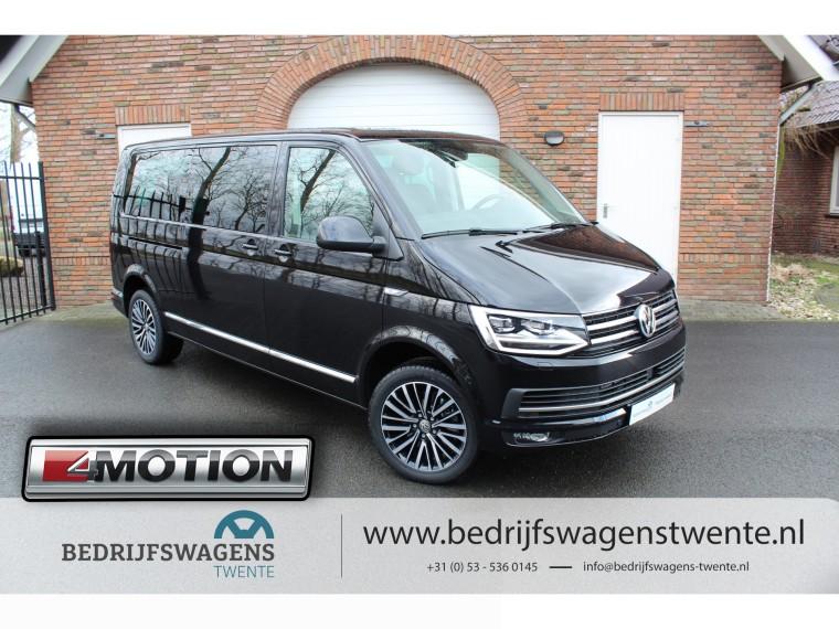 Foto van Volkswagen Multivan T6 MULTIVAN 4-Motion 198 PK DSG LWB **2019** VOL!! 18'' LM