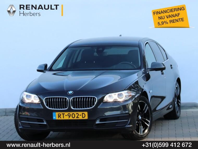 Foto van BMW 5 Serie 520i Executive / HEAD UP / NAVI PROFF / 18 INCH / CAMERA /