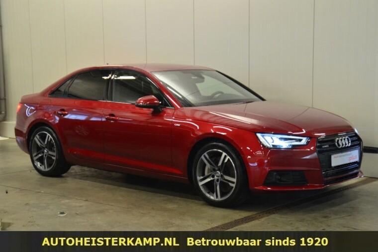 Audi A4 2.0 TFSI quattro 252 PK Virtual Cockpit BEO Sound ACC Trekhaak LED EL. Sportstoelen