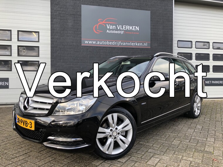 Foto van Mercedes-Benz C-Klasse Estate 180 Business Class 125! Avantgarde