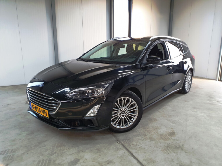 Ford Focus Wagon 1.0 EcoBoost 125 pk Titanium Business led navigatie acc winter pakket
