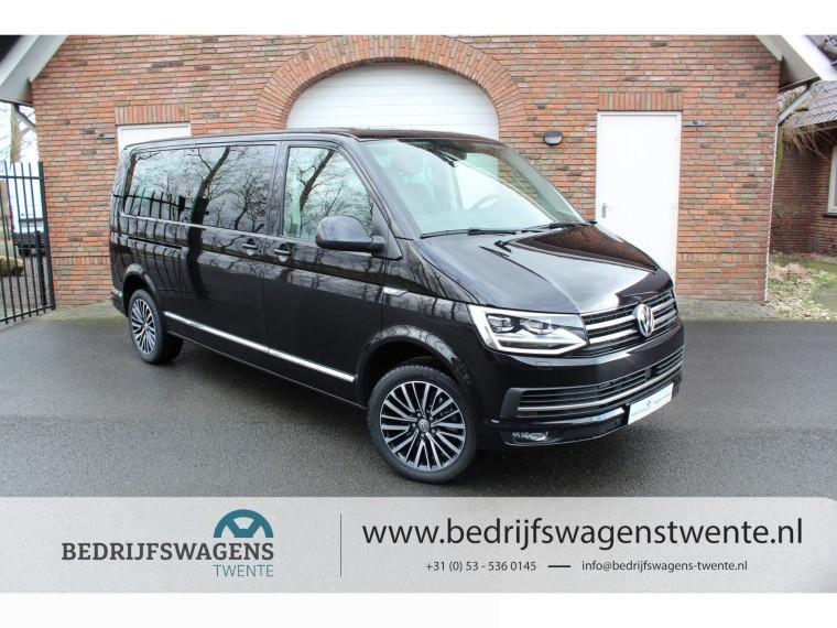 Foto van Volkswagen Multivan T6 MULTIVAN 198 PK DSG LWB GEEL KENTEKEN **2019** LED | LEDER