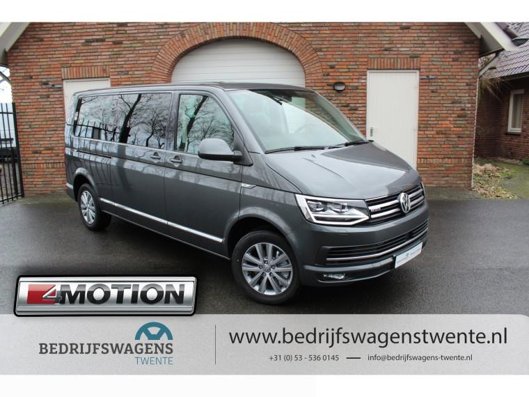 Foto van Volkswagen Multivan T6 MULTIVAN 4-Motion 198 PK DSG GEEL KENTEKEN LWB **2019**
