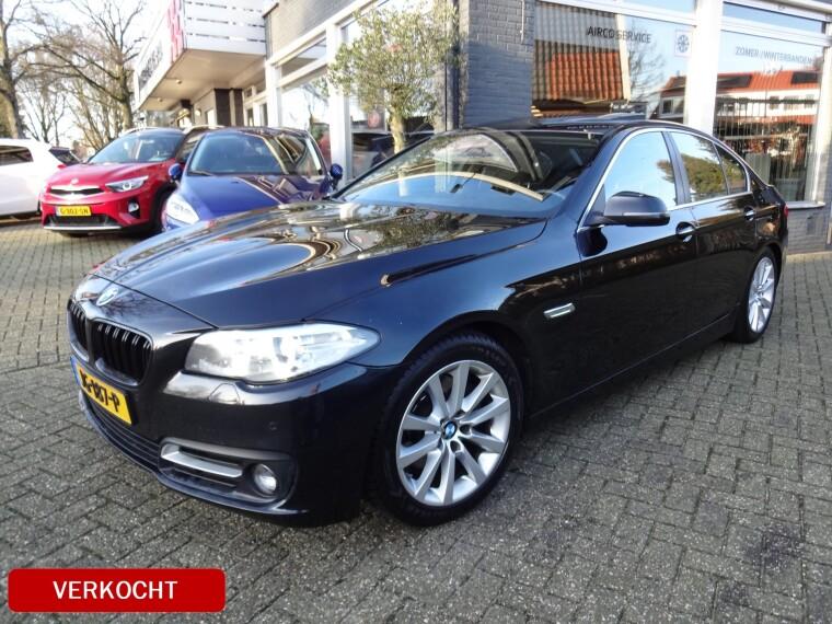 Foto van BMW 5 Serie 520d Aut 190pk High Executive
