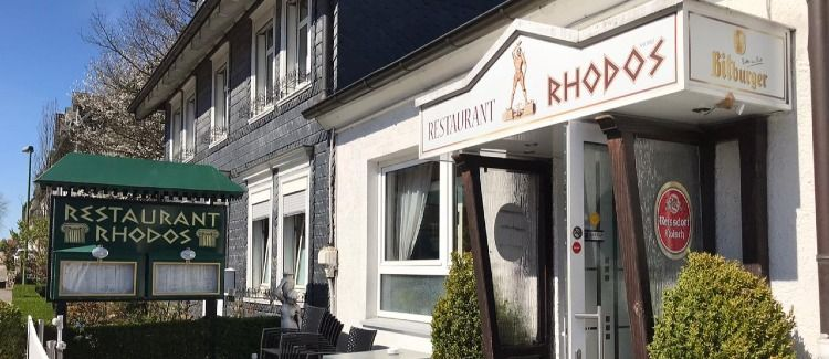 Restaurant Rhodos  Logo