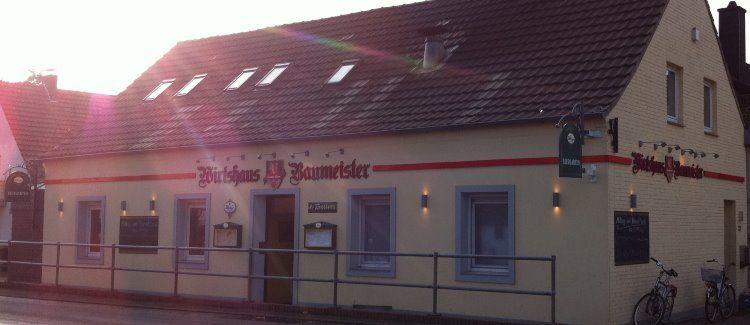 Wirtshaus Baumeister Logo