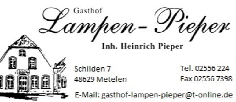 Gasthof- Lampen Pieper Logo