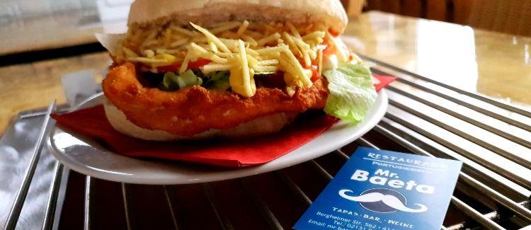 Mr. Baeta Restaurant  Logo