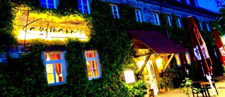 Kaufmann's Restaurant am Schlosspark Logo