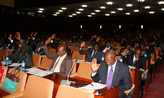 Convocation of a plenary on Wednesday at the National Assembly