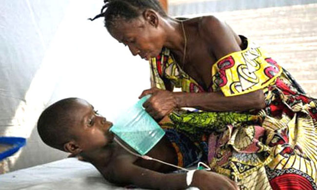 Maniema: suspected cases of cholera, measles and acute pock paralysis in six health zones