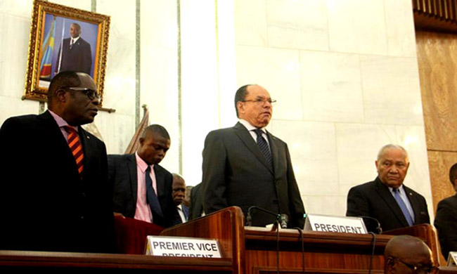The parliamentary life and diplomacy between France and the DRC mentioned within the Senate