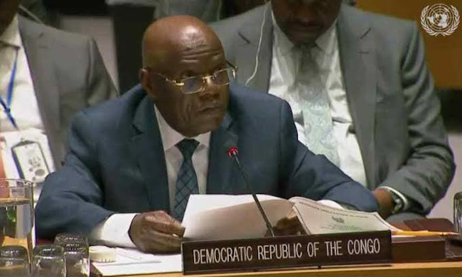 DRC puts an end to the functions of its UN ambassador