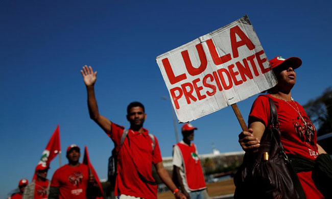 Brazil: Lula's supporters will submit his application to stand for presidential election