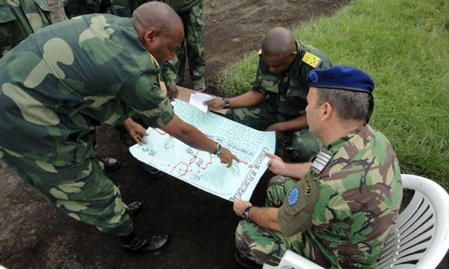 Military cooperation between Egypt and the DRC in good shape