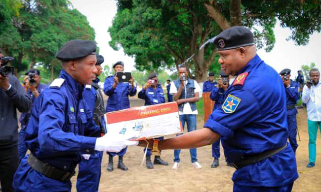 Trained in Kasangulu: 300 new policemen qualified for more efficiency